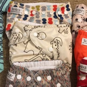 Carter's Bottoms - Baby clothes 3mos 6mos and cloth diapers